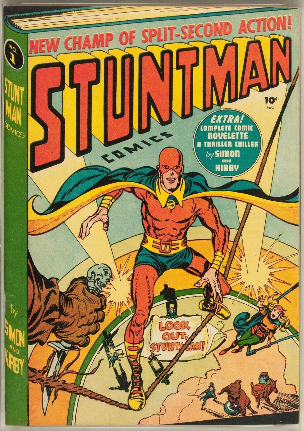 Comic Book Cover For Stuntman #1