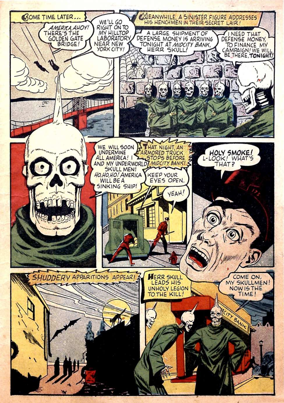 Comic Book Cover For Silver Streak Comics #14