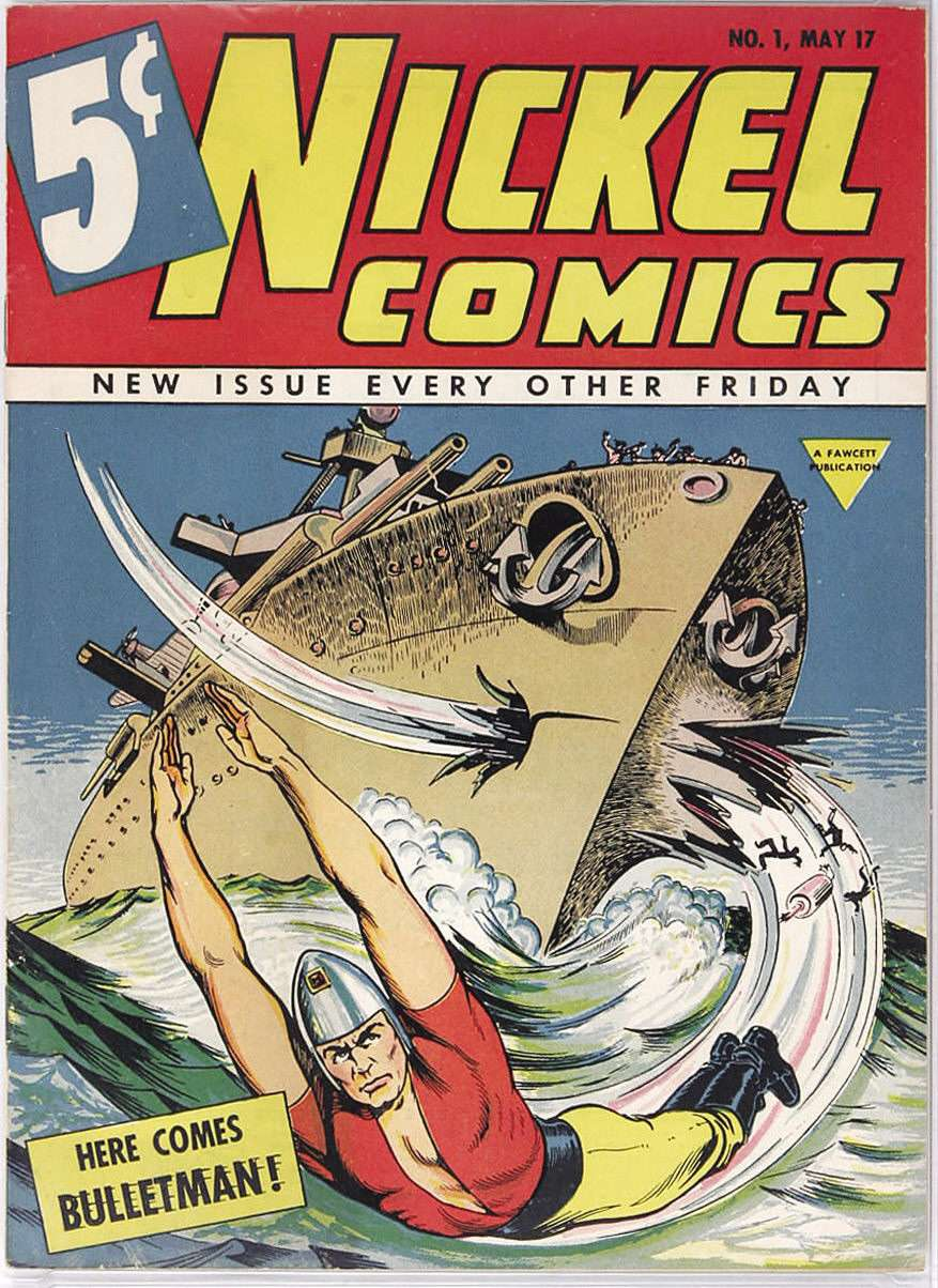 Comic Book Cover For Nickel Comics #1