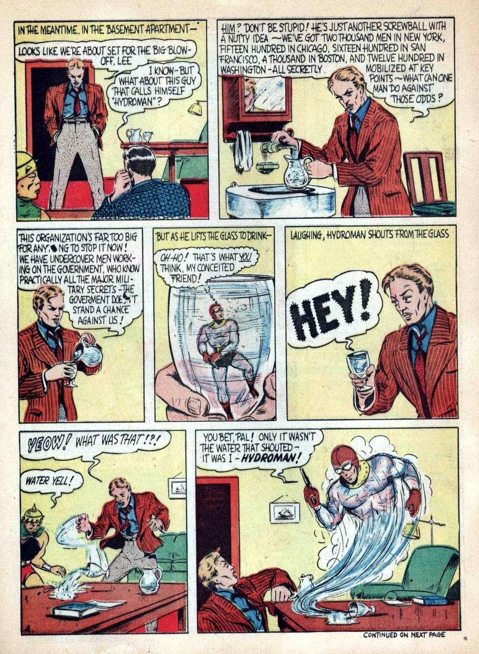 Comic Book Cover For Reg'lar Fellers Heroic Comics #2