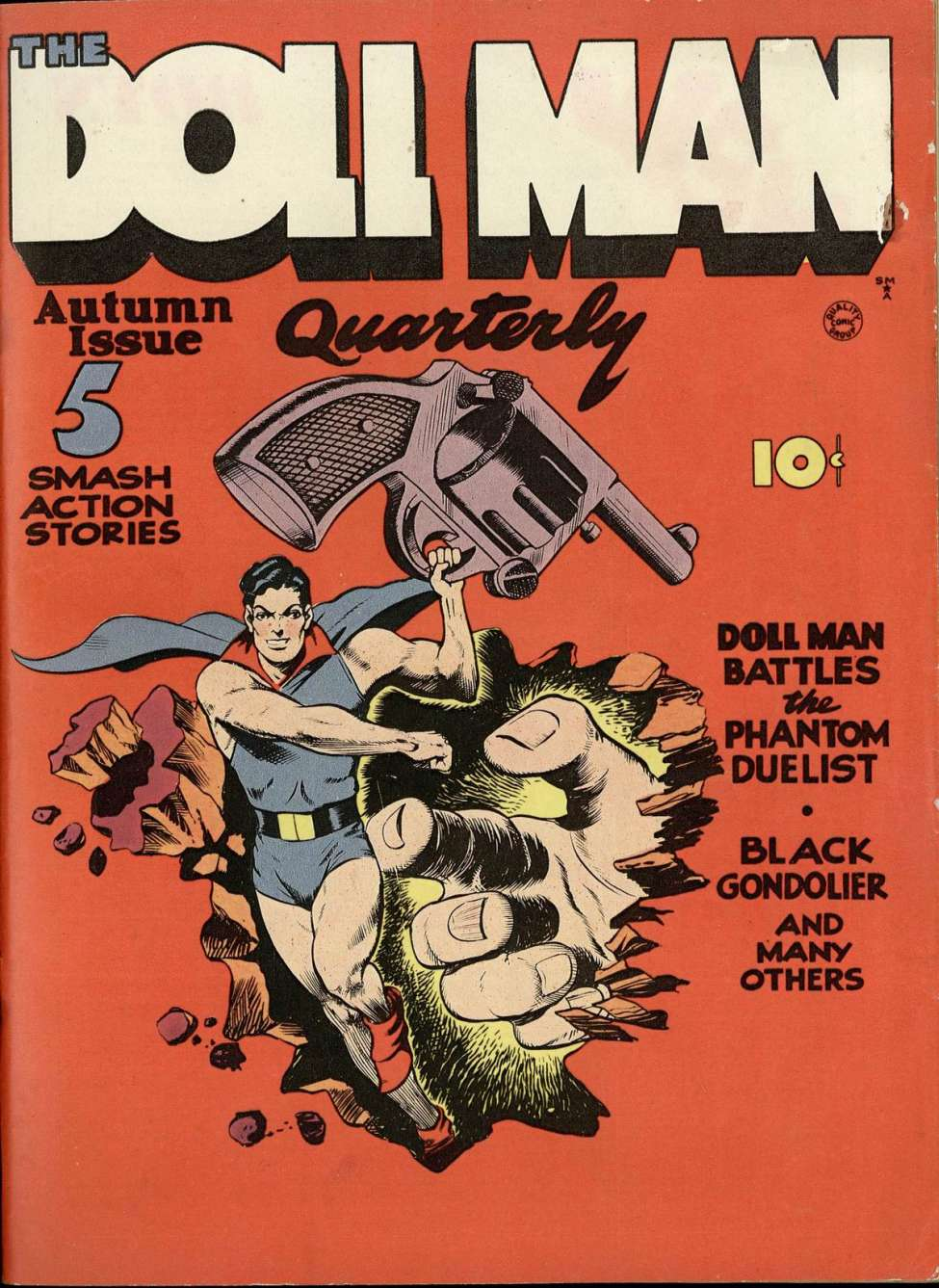 Comic Book Cover For Doll Man #1