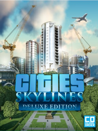 Cities Skylines Deluxe Edition PC  Buy Steam Game CDKey