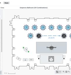 social tables demo diagramming software [ 2294 x 1390 Pixel ]