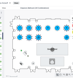 social tables demo seating and attendee management [ 2246 x 1390 Pixel ]