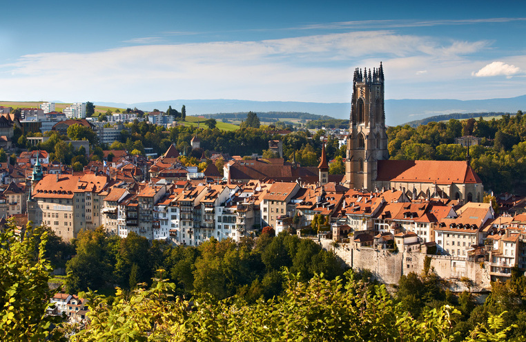 Tourism travel holiday  Fribourg living up the differences  Switzerland