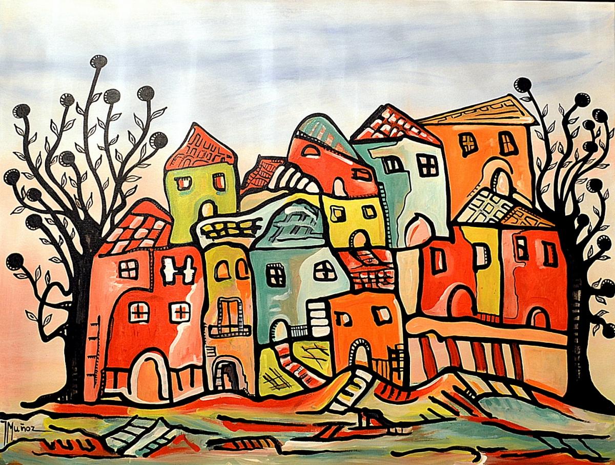 Resultado de imagen para pintura barrio