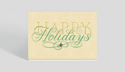 Happy Birthday Banner Card 1023525 Business Christmas Cards
