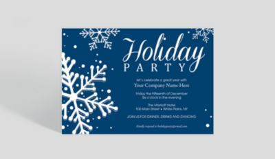 company holiday party invite
