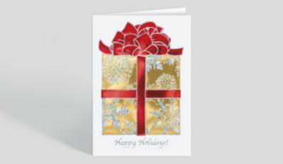 Tire Wreath Christmas Card 1025538 Business Christmas Cards