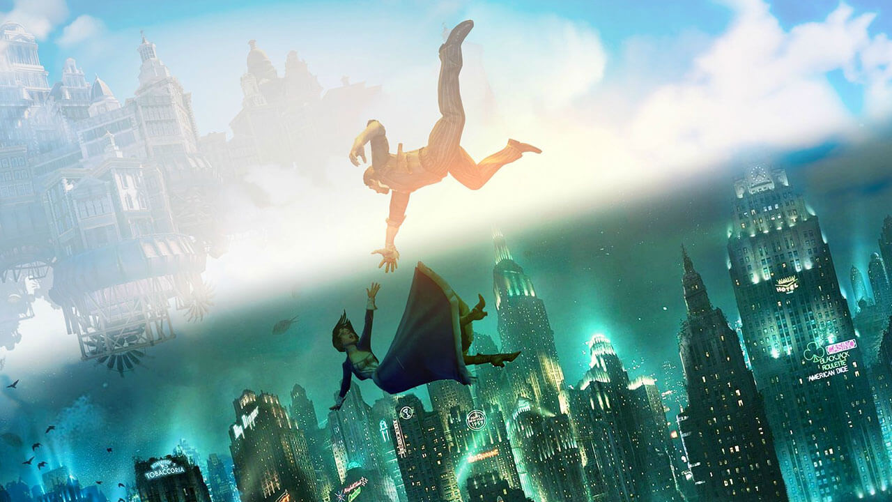 Bioshock Infinite Falling Wallpaper Bioshock From Rapture To Columbia Out Now Gamewatcher