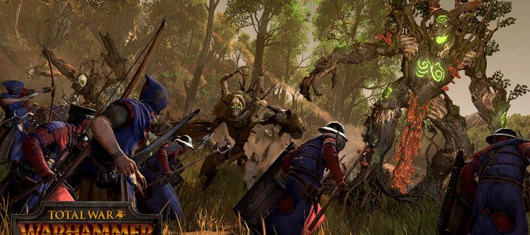 Total War: Warhammer Crashing - Realm of the Wood Elves   GameWatcher