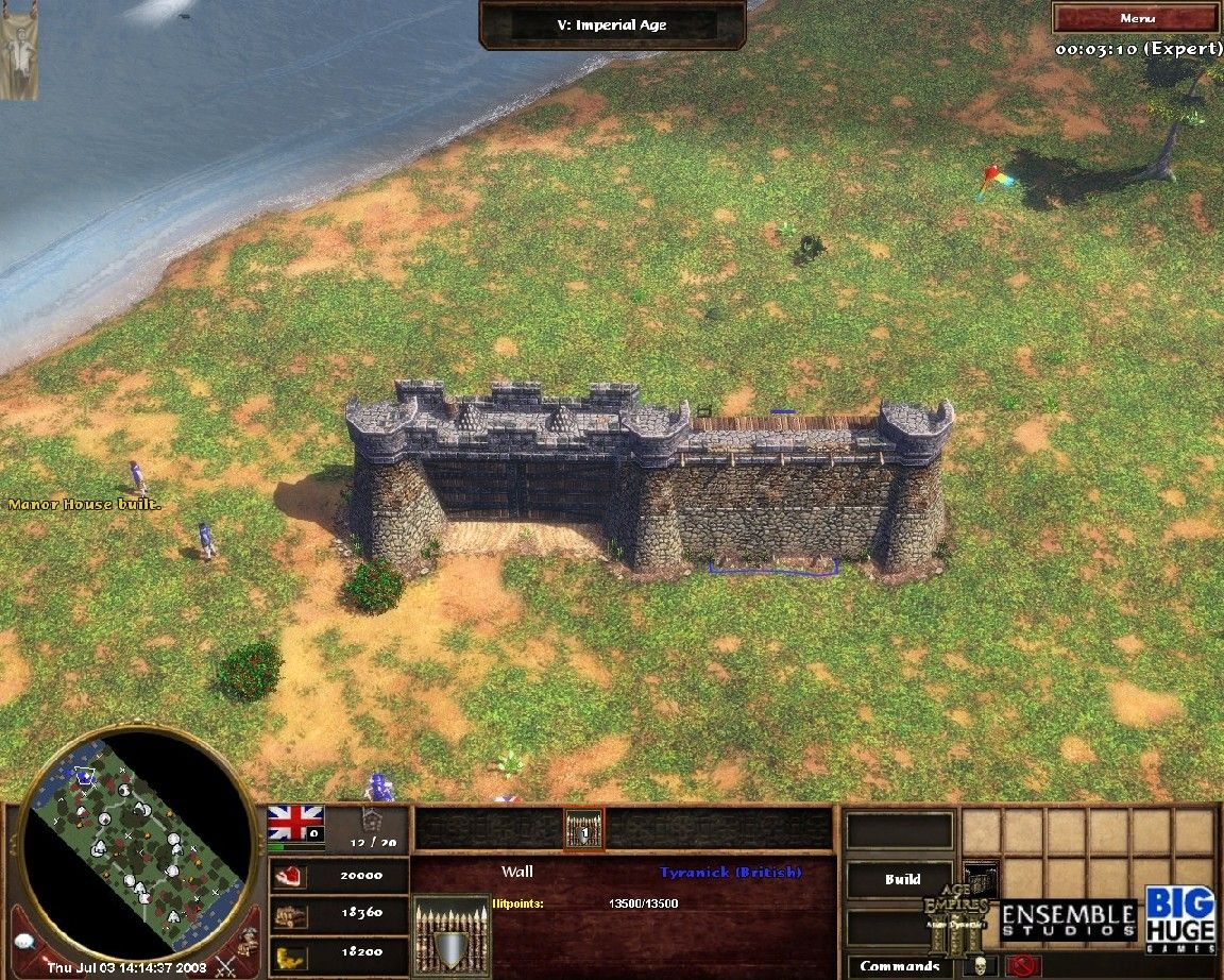 Fort Walls Mod RC 2.1 HOTFIX - Age of Empires III Mods   GameWatcher