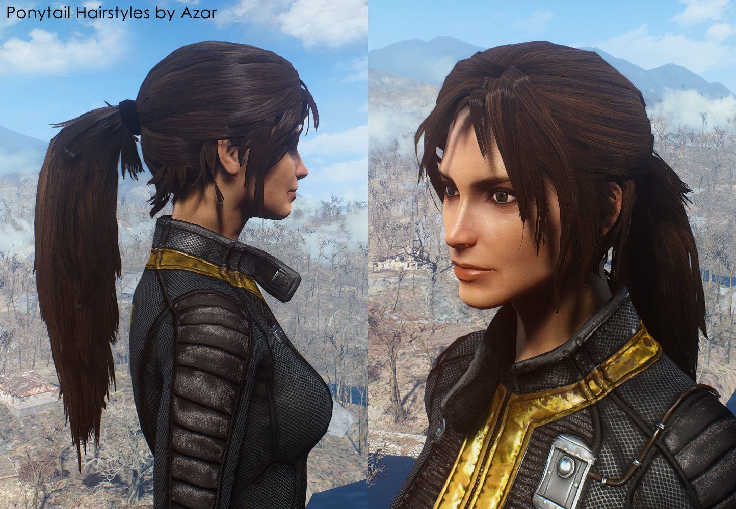 Female Hairstyles With Physics Skyrim
