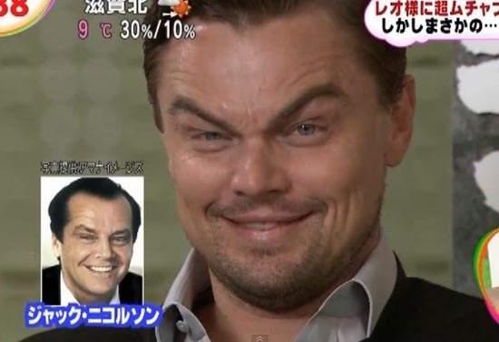 《李奧納多狄卡皮歐》在日本大受歡迎的談話秀模仿記