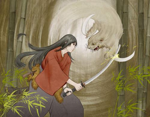 《日本妖怪鐮鼬》這麼萌要怎樣當妖怪啦♥