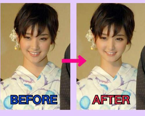 日本網友把《剛力彩芽》可愛化的PS照片 | 宅宅新聞