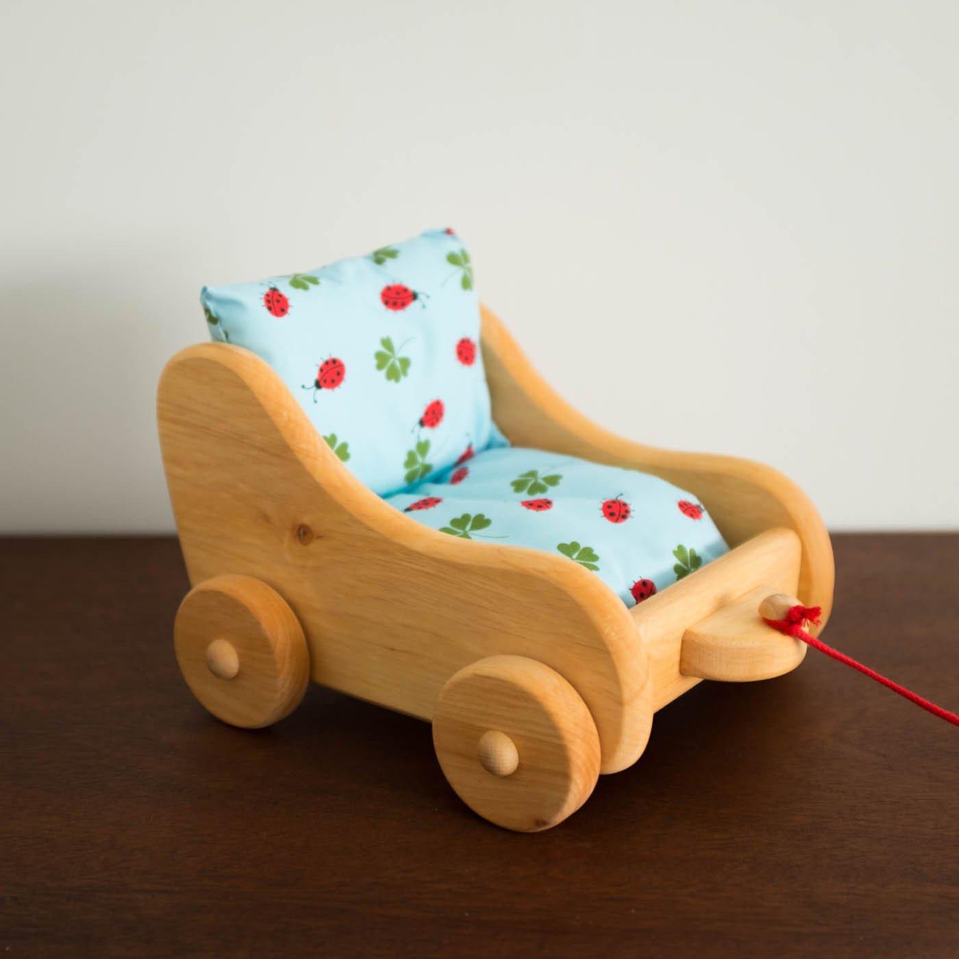 Toy Pram Wooden