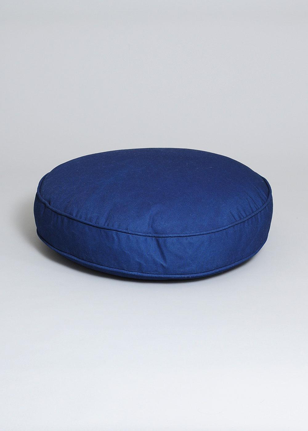 Conifer Round Indigo Floor Pillow  Garmentory