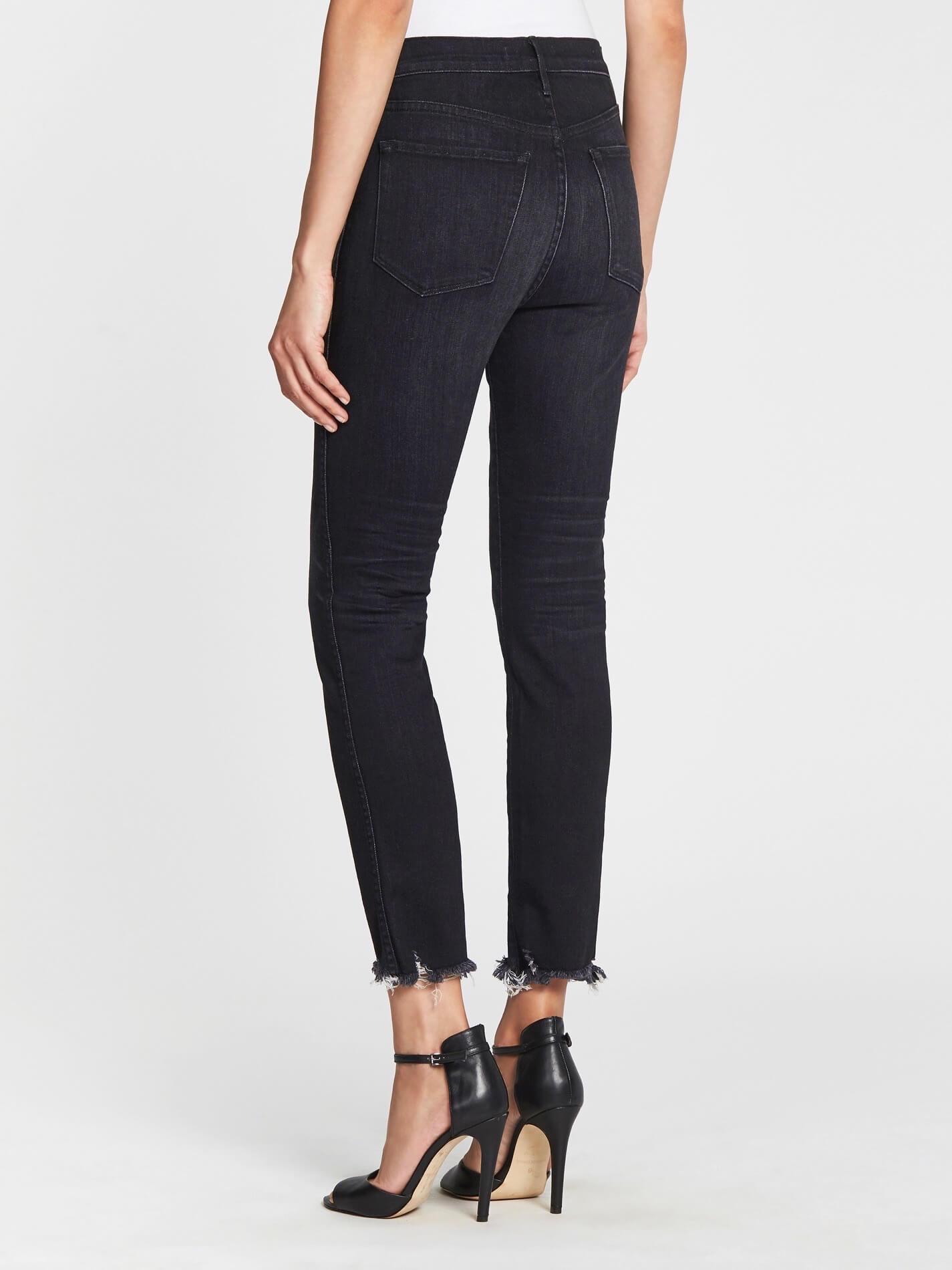 3x1 W3 Straight Authentic Crop Jean - Grey | Garmentory