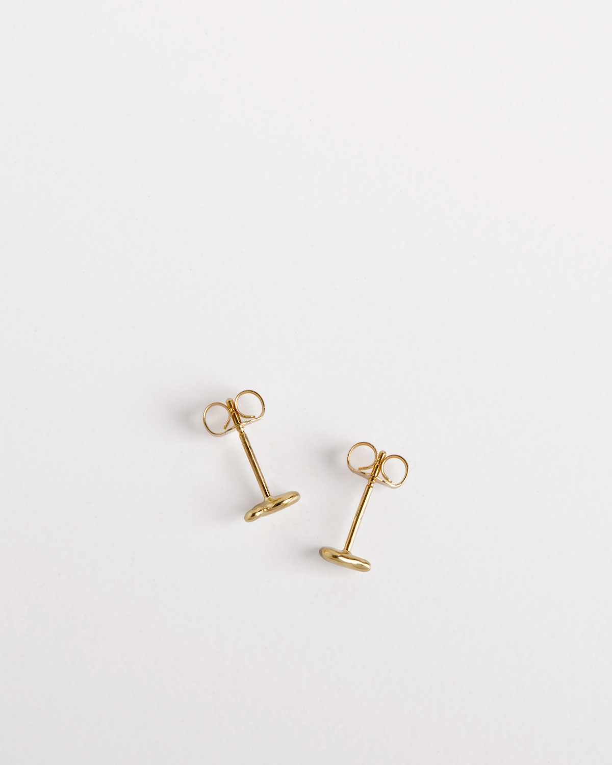 Little Gold Puddle Earrings
