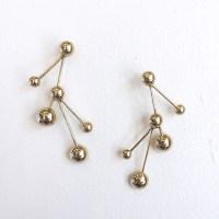 Pamela Love Hydra Earrings in Brass from Saint Cloud ...