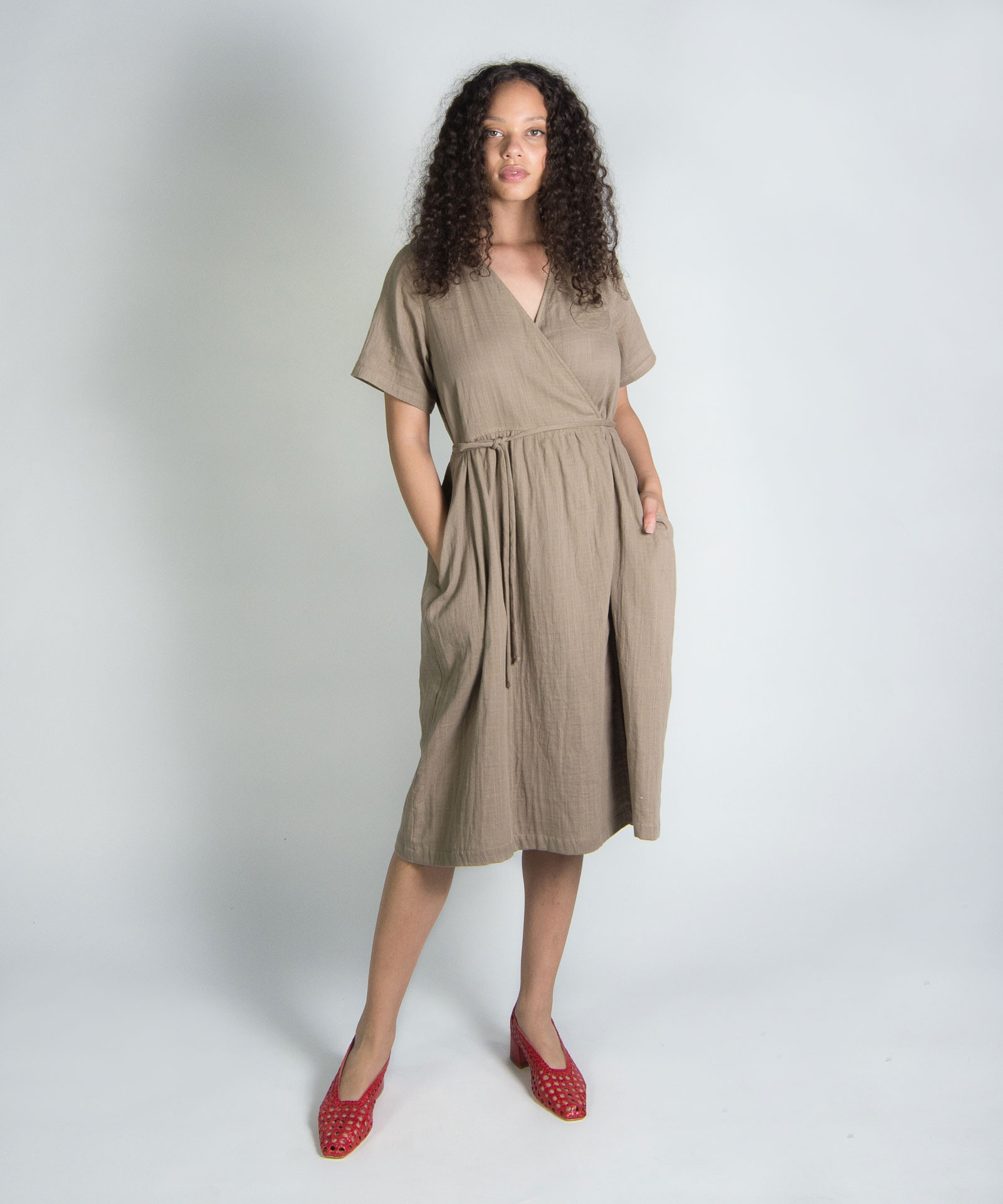 Wrk-shp Summer Wrap Dress Garmentory