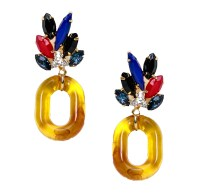 Lizzie Fortunato Parakeet Earrings from Saint Cloud ...