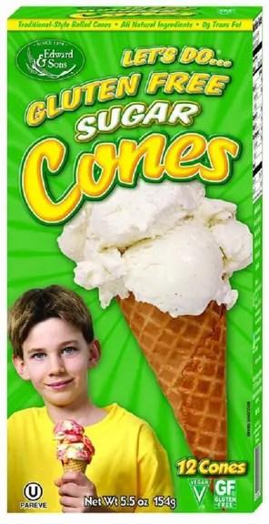 Let39s Do Ice Cream Cones Sugar Case of 12 46 oz