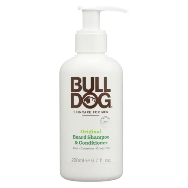 bulldog natural skincare beard shampoo - conditioner - original