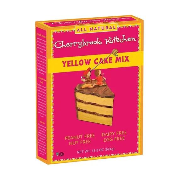 Cherrybrook Kitchen Yellow Cake Mix  Case Of 6  163oz