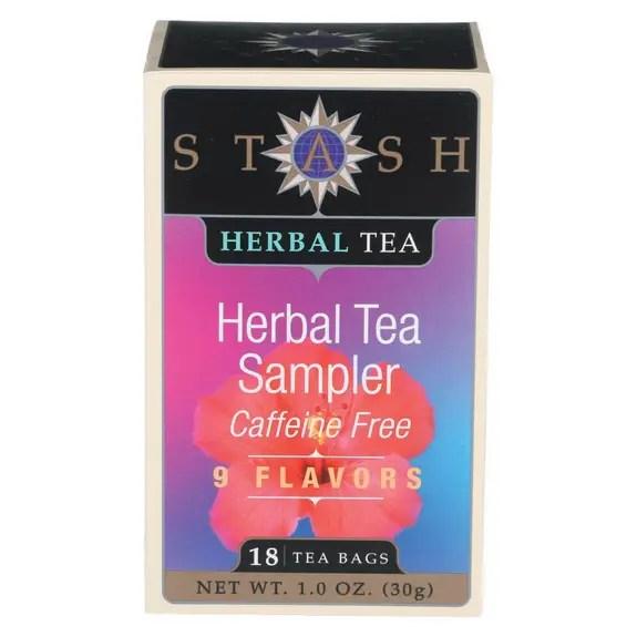 Stash Tea - Herbal Sampler Case Of 6 18 Bag