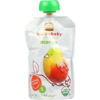 Happy Baby Food - Organic - Starting Solids - Mangos - 4 ...