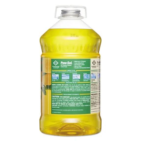 Pine Sol AllPurpose Cleaner Lemon 144 Oz Bottle 35419