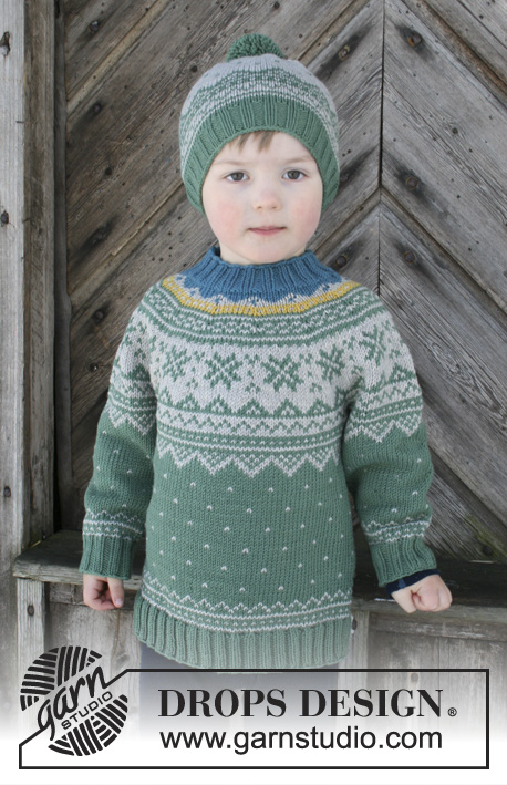 Seiland Jumper DROPS Children 30 5 Free Knitting