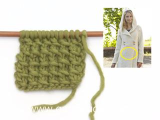 comment tricoter un point de bambou