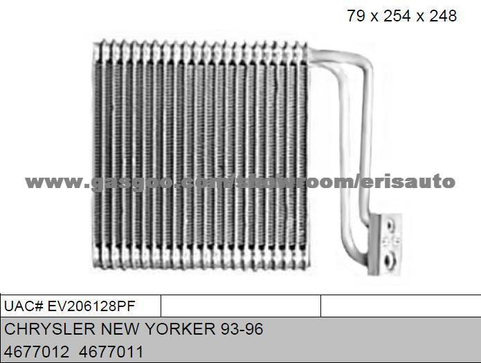 Evaporator for CHRYSLER NEW YORKER 93-96, OEMNO:4677012