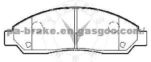 ISUZU D-MAX BRAKE PAD D1039, OEM Number D1039 wva24370