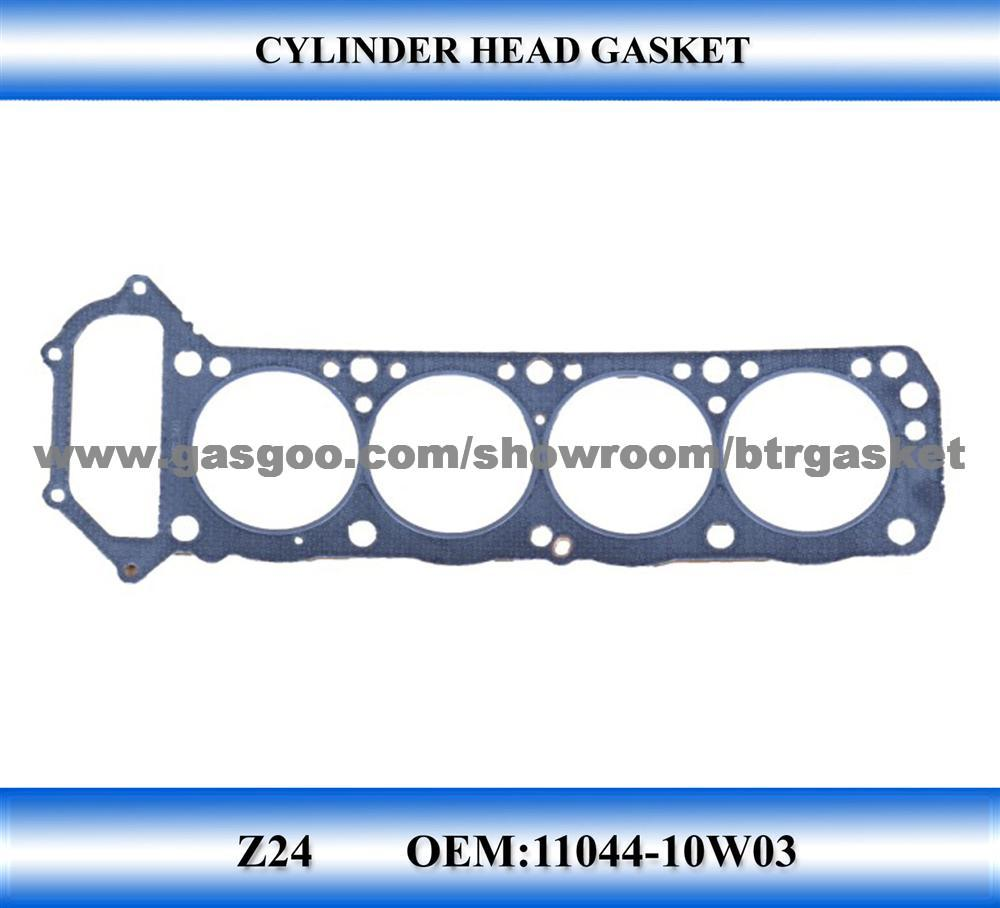 hight resolution of automobile cylinder head gasket for nissan z24 gasket kit
