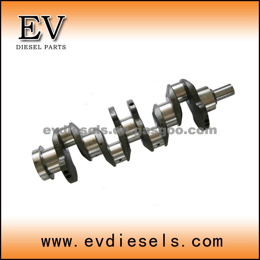 hight resolution of isuzu diesel engine parts 4be1 4bd1 crankshaft