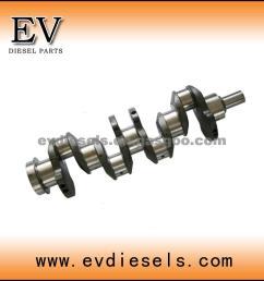p11c crankshaft hino engine parts crankshaft [ 900 x 900 Pixel ]