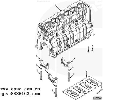Cummins ISX Connection, Adapter 3683911 3683911,China Auto