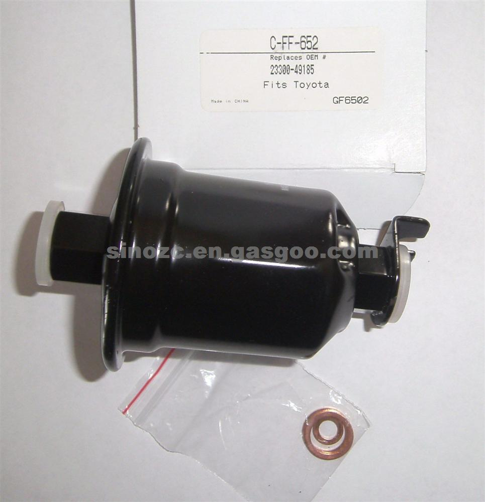 hight resolution of genuine toyota oem part 23300 49185 fuel filter