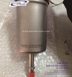 fuel filter 2c5e9155bb 2c5z9155bc 5pe8620cb fg1083 gf796 mf1027 gf796 [ 2228 x 2971 Pixel ]