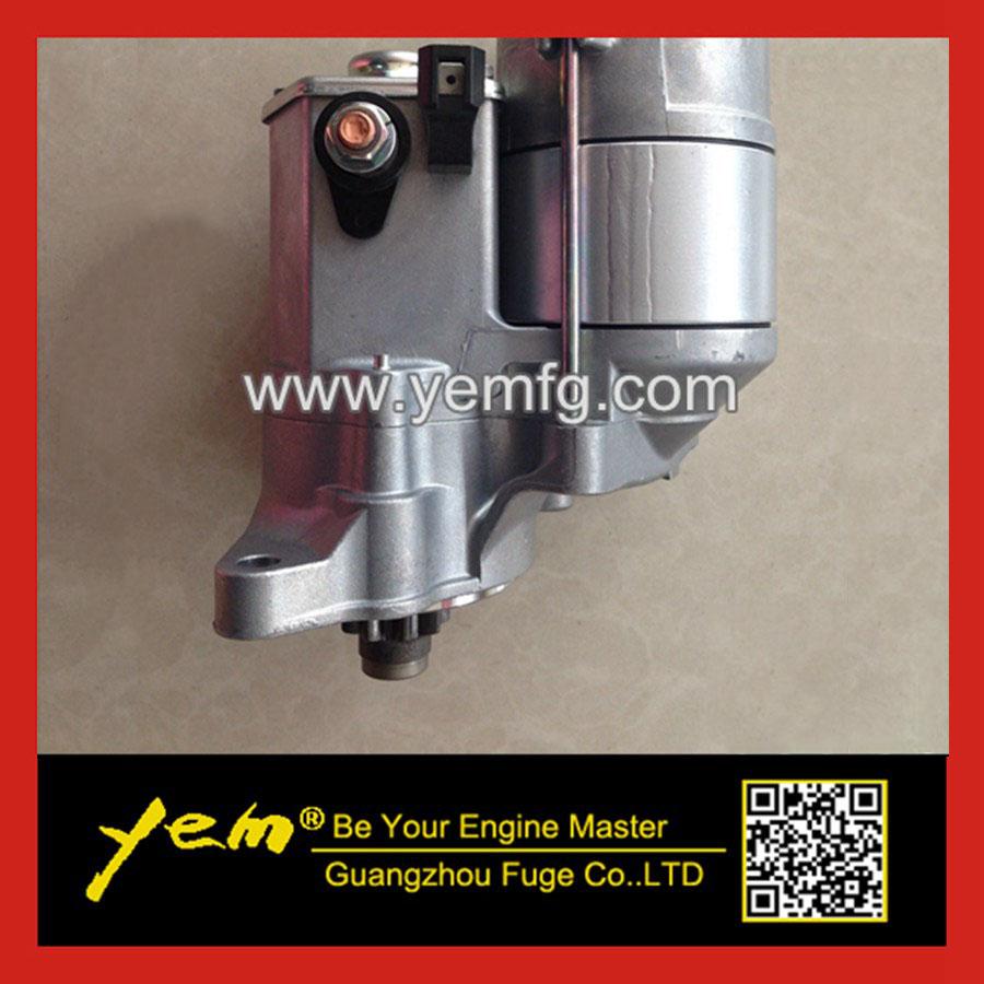 medium resolution of kubota v1505 starter motor 16695 63012