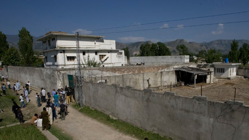 Image result for photo of bin laden compound in abbottabad
