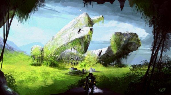 stunning fantasy and sci-fi