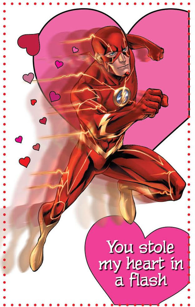 17 DC New 52 Superhero Valentine's Day Cards To Groan At