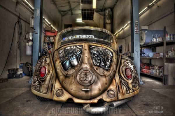 Herbie Goes Steampunk