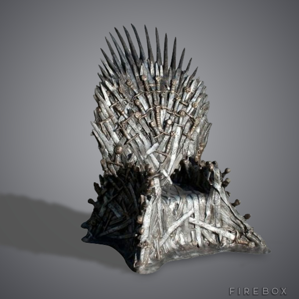 game of thrones chair for sale office you can sleep in thrones: buy your own iron throne