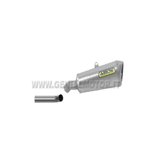 Exhaust + Link Pipe Arrow Trophy Titan Suzuki Gsx-R 750